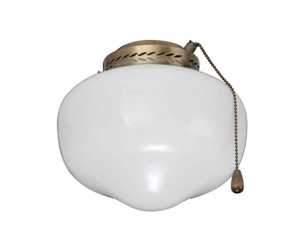 Emerson CFSLK1 Fan Light Kit for 4 Inch Fitter Antique Brass Ceiling Sale $45.00 ITEM#: 291782 MODEL# :CFSLK1AB :