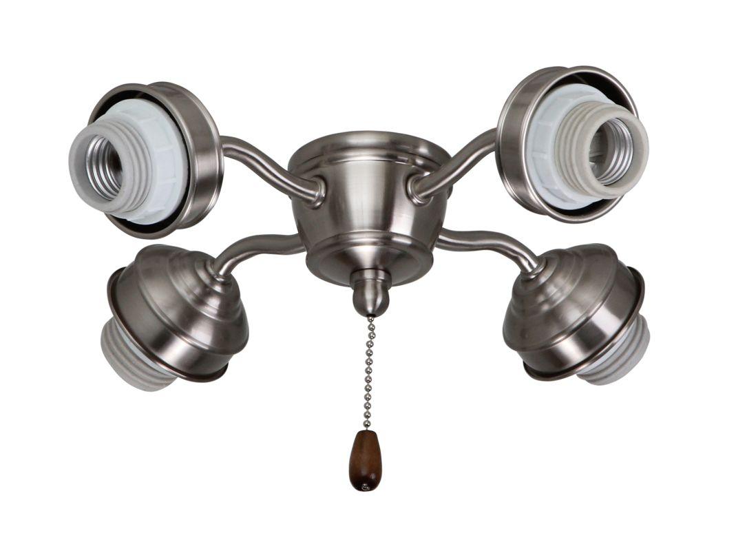 Emerson F450 4 Light Premier Ceiling Fan Light Kit Fitter Brushed