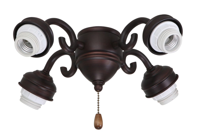 Emerson F490 Decorative Four Arm Fitter Venetian Bronze Ceiling Fan