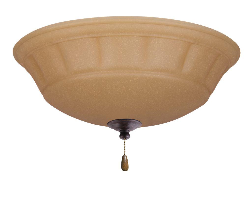 Emerson LK140 Grande 3 Light Ceiling Fan Light Kit Distressed Bronze