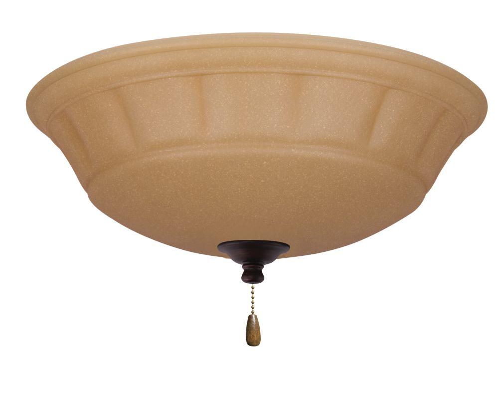 Emerson LK140 Grande 3 Light Ceiling Fan Light Kit Venetian Bronze