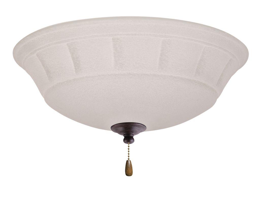 Emerson LK141 Grande 3 Light Ceiling Fan Light Kit Distressed Bronze