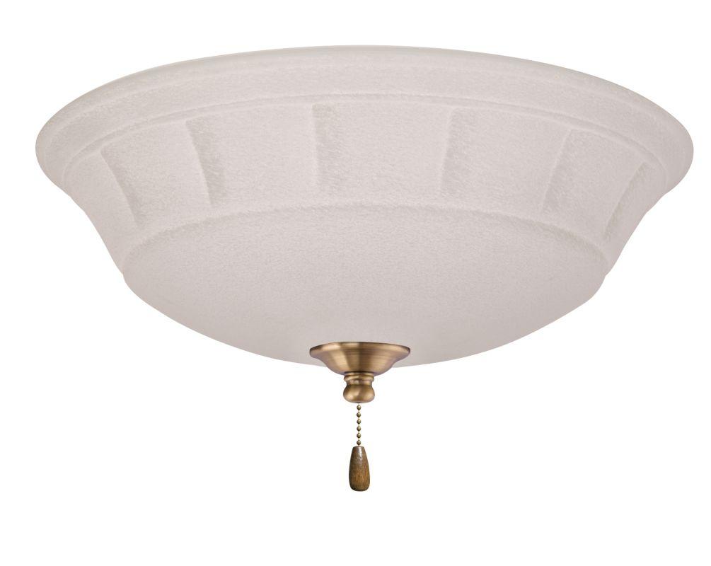 Emerson LK141LED Grande White Mist 1 Light LED Ceiling Fan Light Kit Sale $179.00 ITEM#: 2630838 MODEL# :LK141LEDAB :