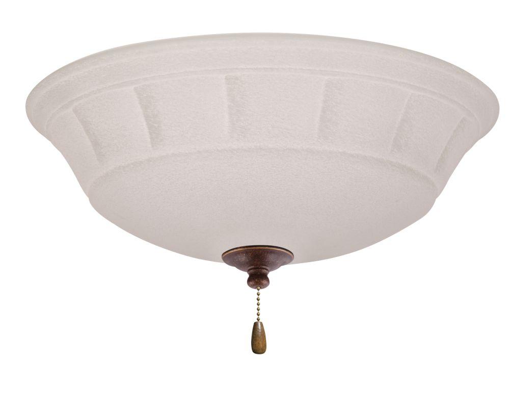 Emerson LK141LED Grande White Mist 1 Light LED Ceiling Fan Light Kit Sale $179.00 ITEM#: 2630843 MODEL# :LK141LEDGBZ :