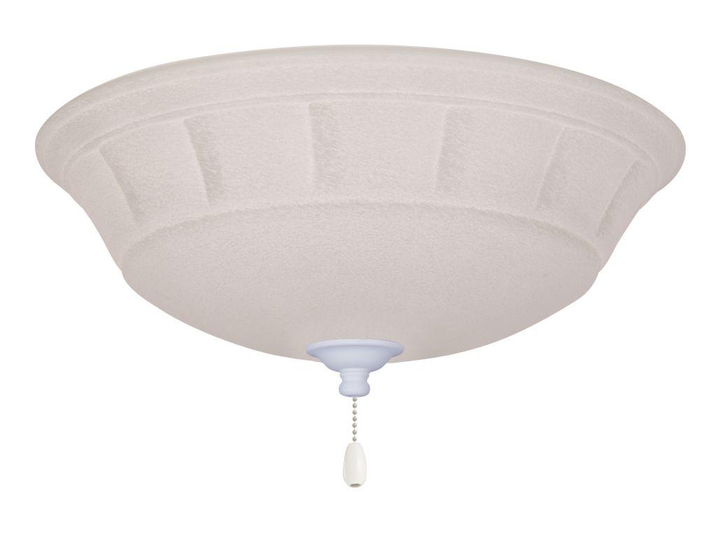 Emerson LK141LED Grande White Mist 1 Light LED Ceiling Fan Light Kit Sale $179.00 ITEM#: 2630846 MODEL# :LK141LEDSW :