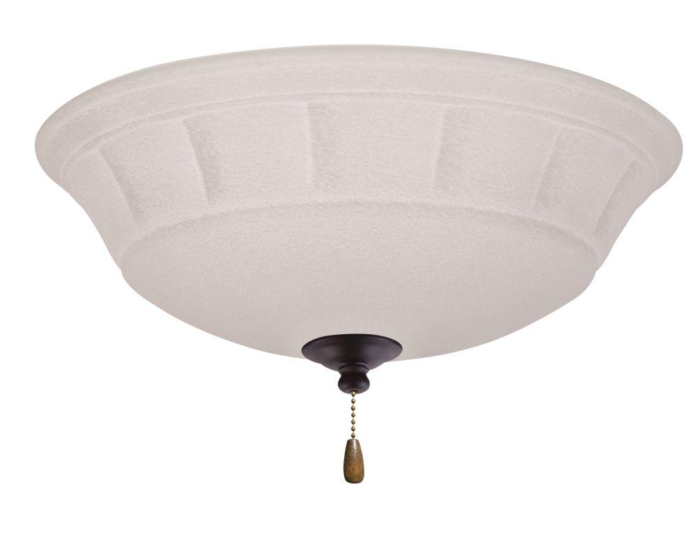 Emerson LK141 Grande 3 Light Ceiling Fan Light Kit Oil Rubbed Bronze
