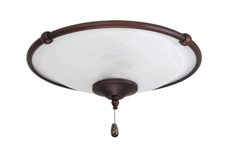 Emerson LK53 3 Light Low Profile Decorative Ceiling Fan Light Fixture Sale $95.00 ITEM#: 1938155 MODEL# :LK53VNB :