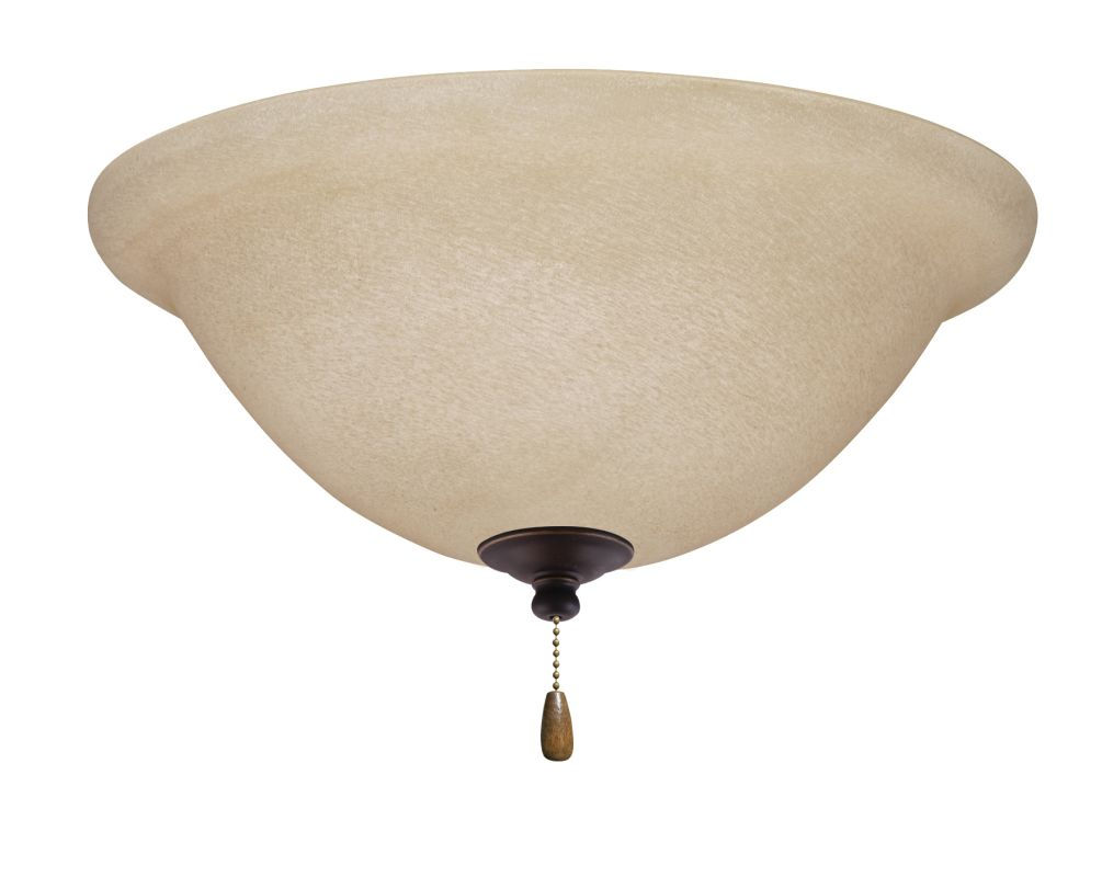 Emerson LK70 Bowl Light Fixture Golden Espresso Ceiling Fan Sale $79.00 ITEM#: 1275759 MODEL# :LK70GES :