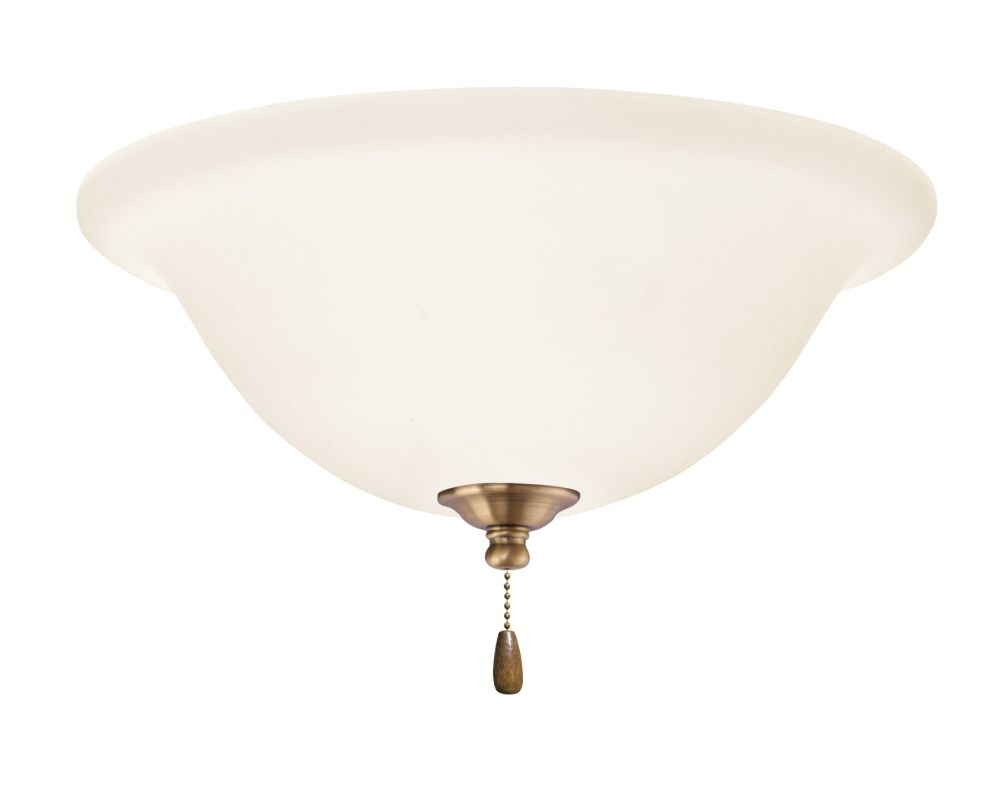 Emerson LK74 Bowl Light Fixture Antique Brass Ceiling Fan Accessories Sale $79.00 ITEM#: 1275813 MODEL# :LK74AB :