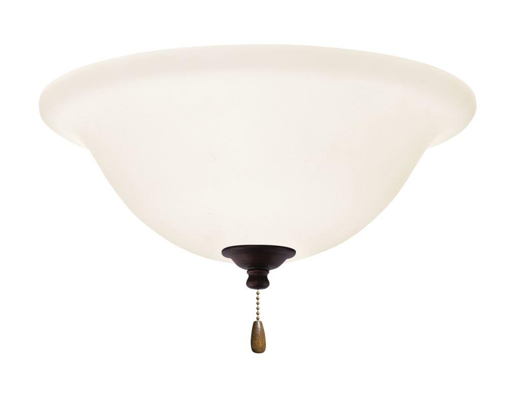 Emerson LK74 Bowl Light Fixture Venetian Bronze Ceiling Fan Sale $79.00 ITEM#: 1710285 MODEL# :LK74VNB :