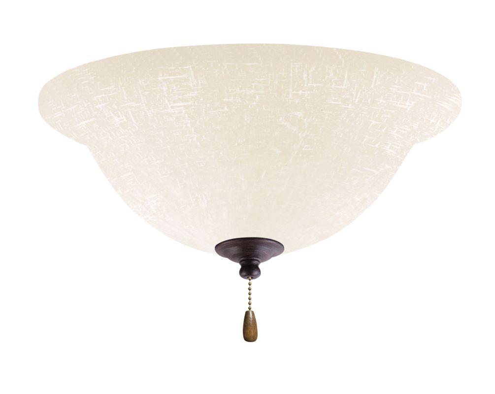 Emerson LK77LED White Linen 1 Light LED Ceiling Fan Light Kit Sale $159.00 ITEM#: 2630922 MODEL# :LK77LEDDBZ :