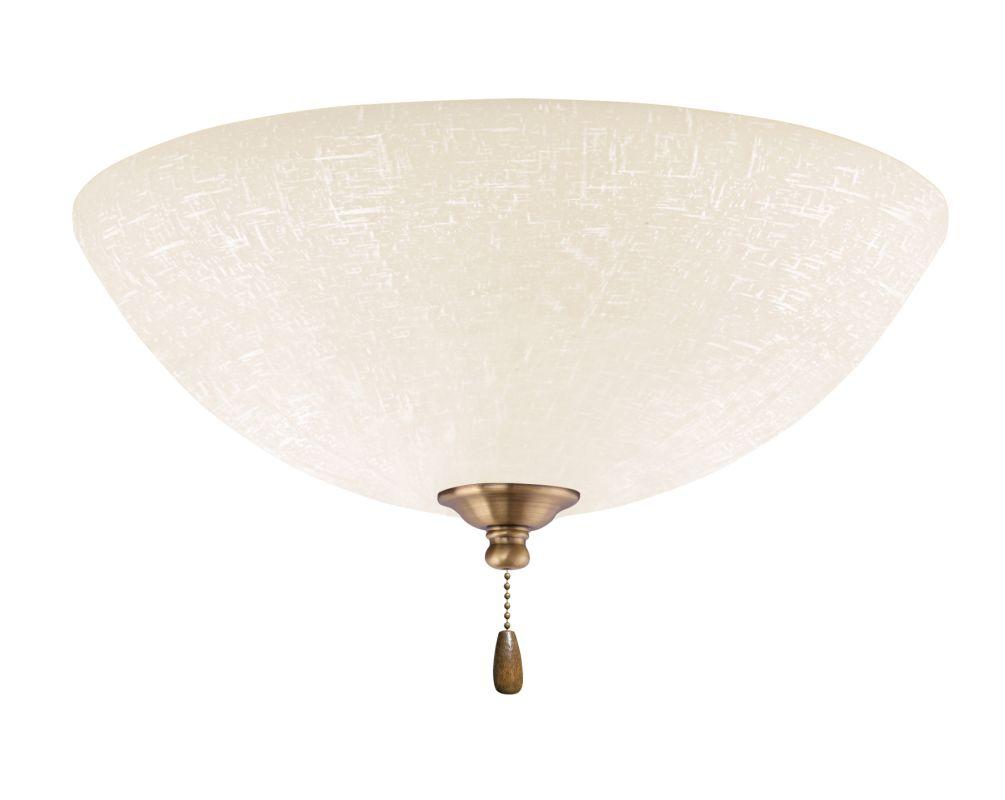 Emerson LK83 Bowl Light Fixture Antique Brass Ceiling Fan Accessories