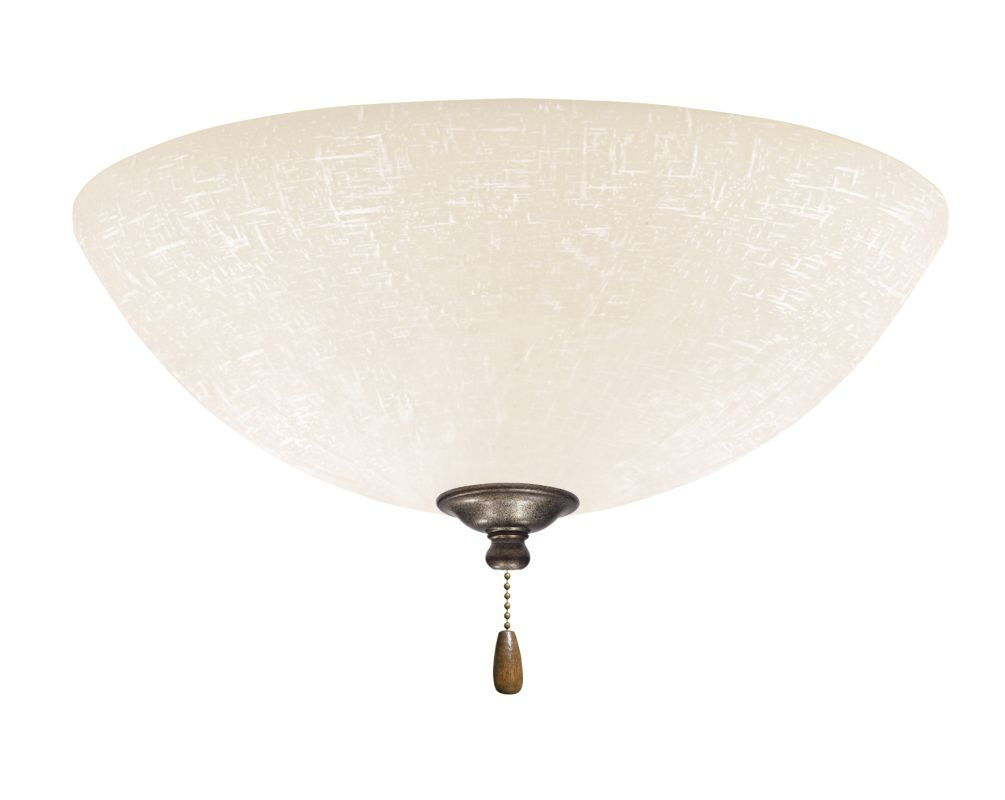 Emerson LK83LED White Linen 1 Light LED Ceiling Fan Light Kit Vintage Sale $159.00 ITEM#: 2630964 MODEL# :LK83LEDVS :