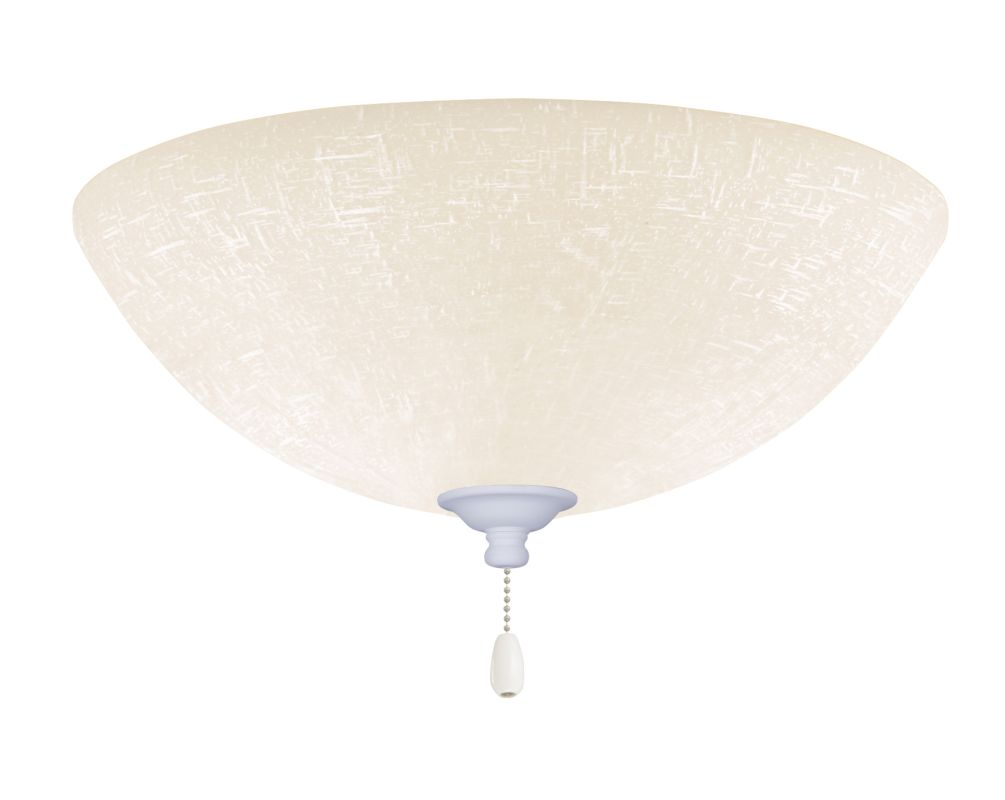 Emerson LK83 Bowl Light Fixture Satin White Ceiling Fan Accessories Sale $79.00 ITEM#: 2588470 MODEL# :LK83SW :