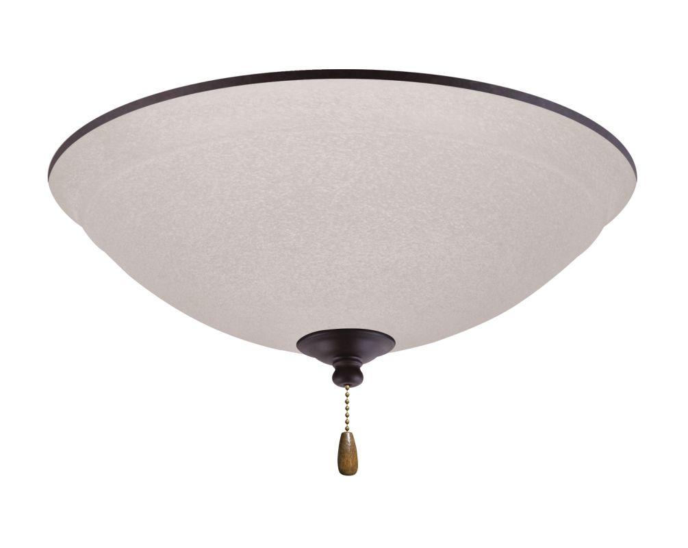 Emerson LK93 Ashton 3 Light Ceiling Fan Light Kit Oil Rubbed Bronze