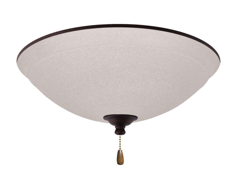 Emerson LK93 Ashton 3 Light Ceiling Fan Light Kit Venetian Bronze
