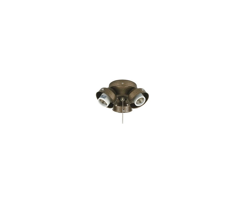 Fanimation F301 3 Light Medium Base Fitter Aged Bronze Ceiling Fan