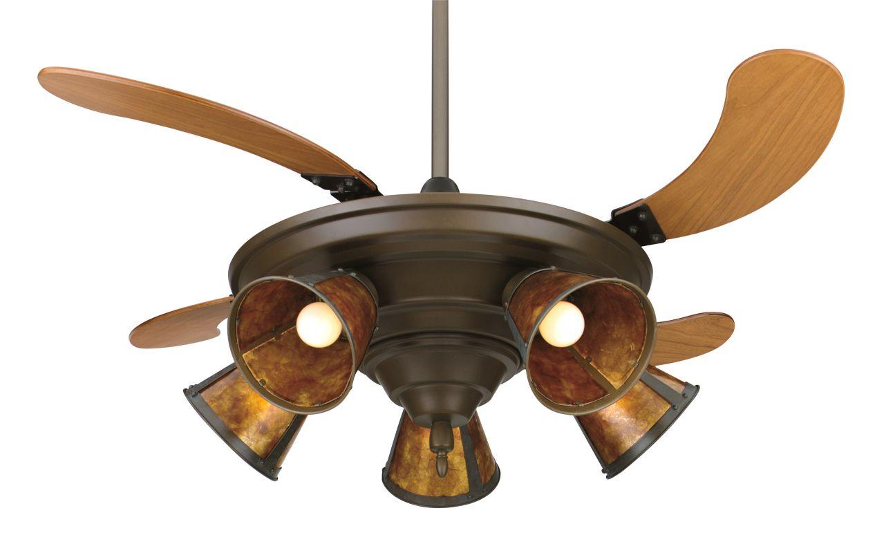 """Fanimation Air Shadow - 825 43"""" 4 Blade FanSync Compatible Ceiling Fan"""