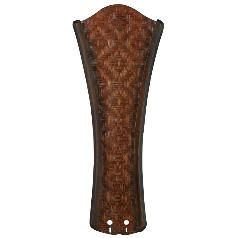 """Fanimation B5270 22"""" Concave Carved Wood Blades with Woven Bamboo for"""