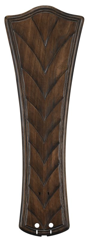 "Fanimation B6060 26"" Concave Ribbed Carved Wood Blades for 60"" Ceiling"