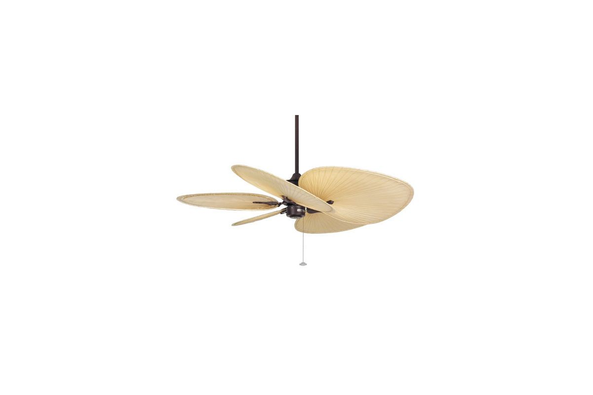 "Fanimation FP320-ISP1 Islander 52"" 5 Blade Ceiling Fan - Natural Palm"