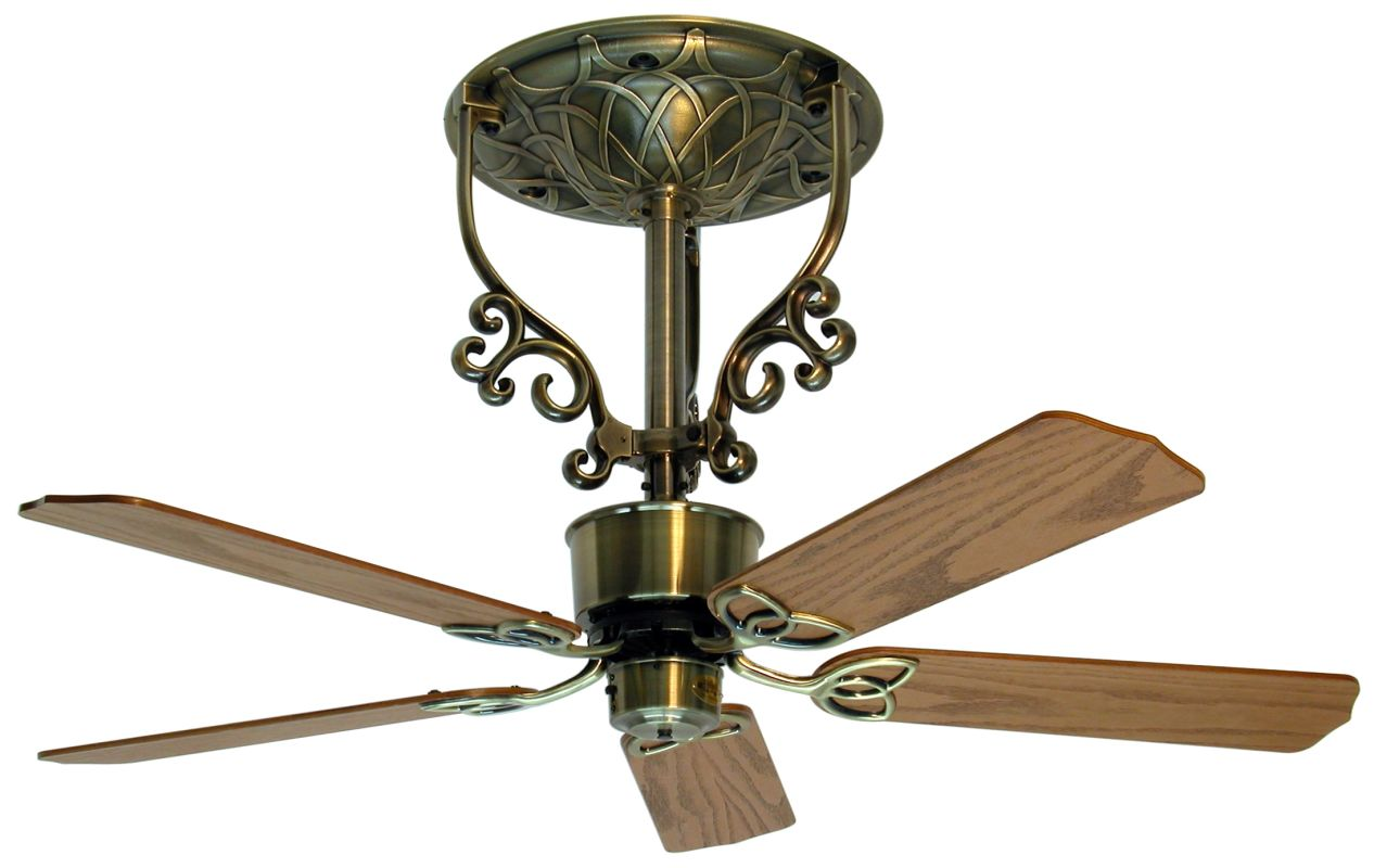 "Fanimation FP410-FP1018 Americana 52"" 5 Blade Short Neck Ceiling Fan -"