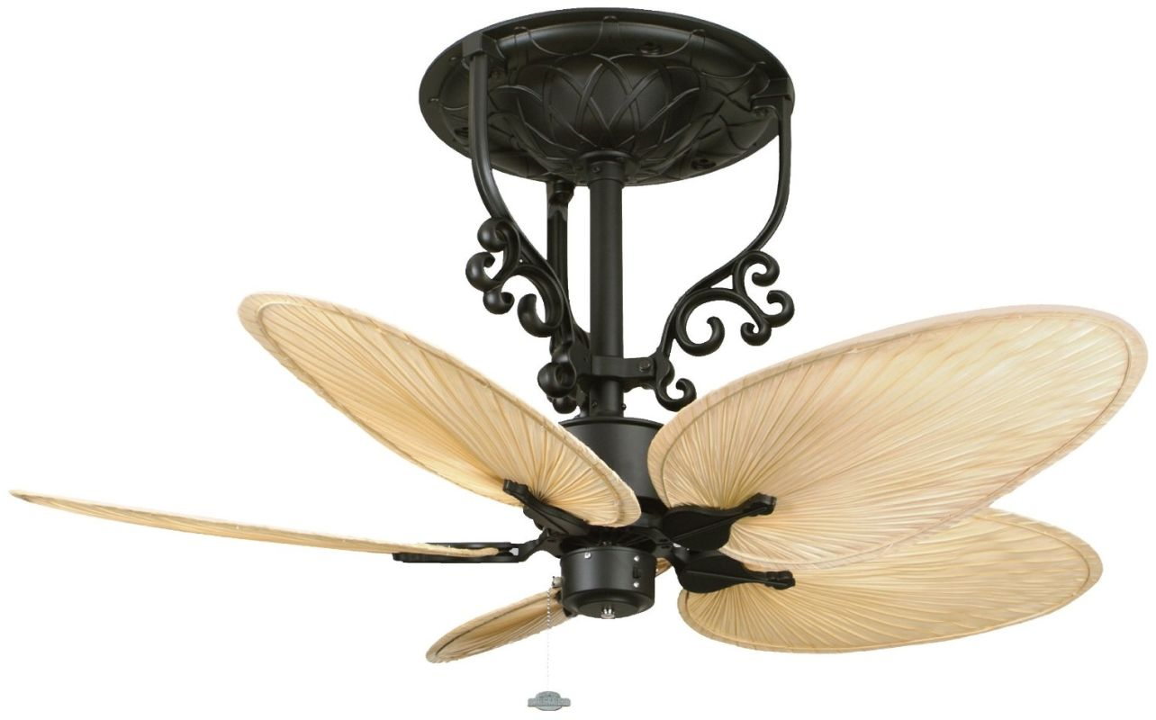 "Fanimation FP410-ISP4 Americana 52"" 5 Blade Short Neck Ceiling Fan -"