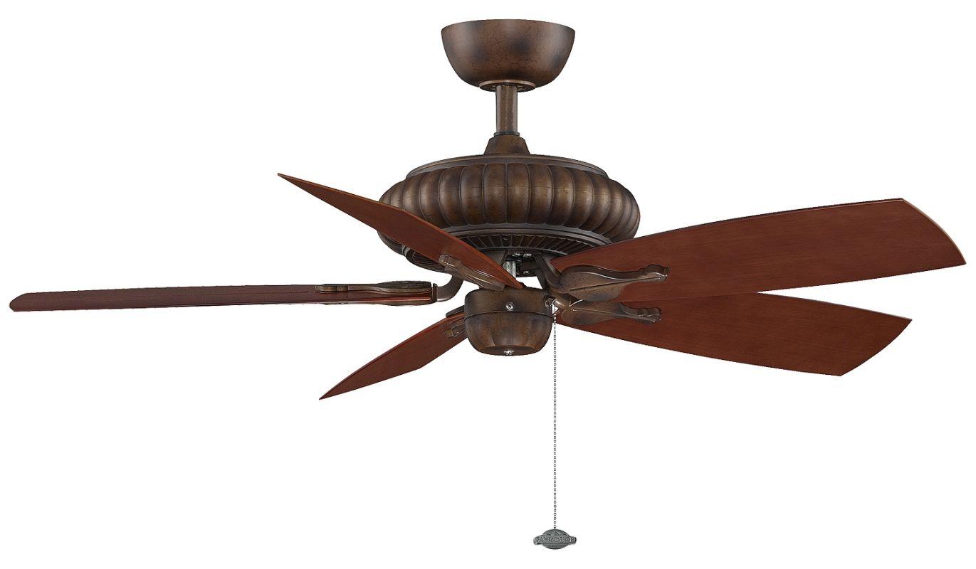 """Fanimation FP4320-BPW20MH Belleria 48"""" 5 Blade Outdoor Ceiling Fan -"""