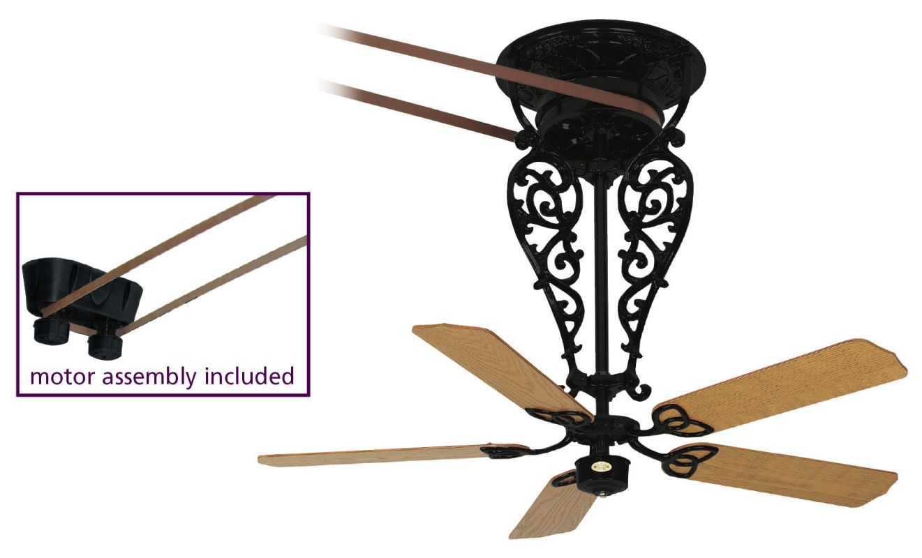 "Fanimation FP580BL-18-L1 52"" 5 Blade Ceiling Fan - Motor Blades and Sale $3499.95 ITEM#: 2368148 MODEL# :FP580BL-18-L1 UPC#: 840506057784 :"
