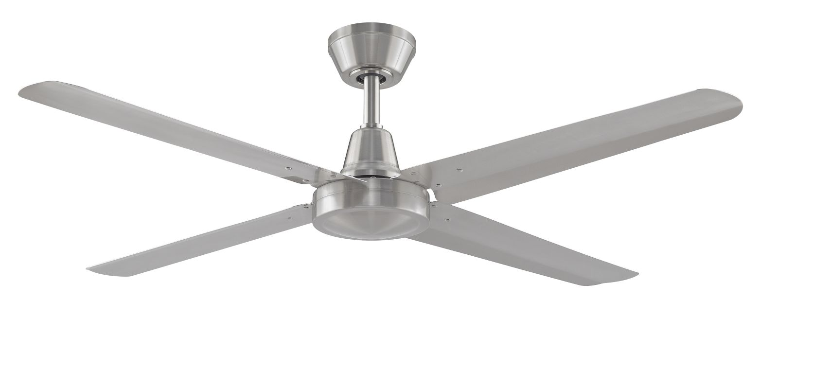 "Fanimation FP6717 54"" Semi-Flush 4 Blade Energy Star Certified Ceiling"