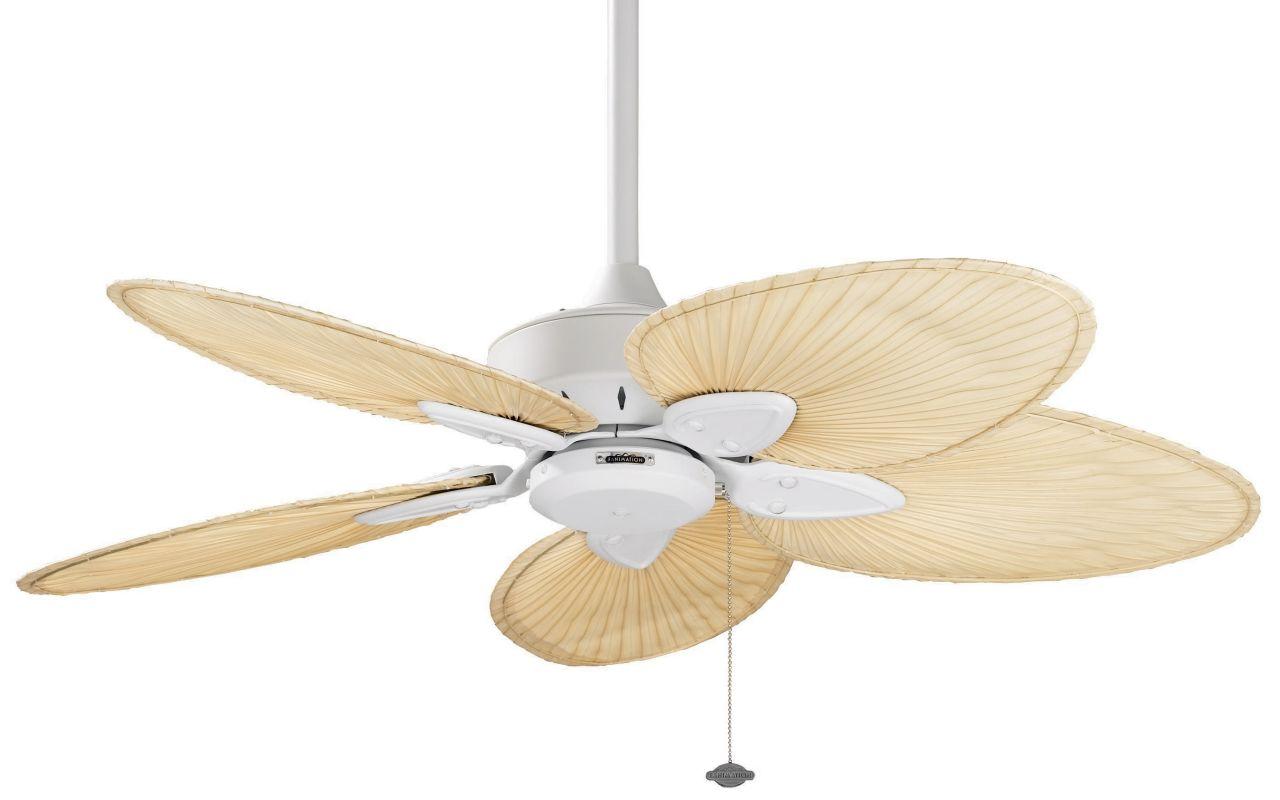 "Fanimation FP7500MW 44"" 5 Blade FanSync Compatible Ceiling Fan -"