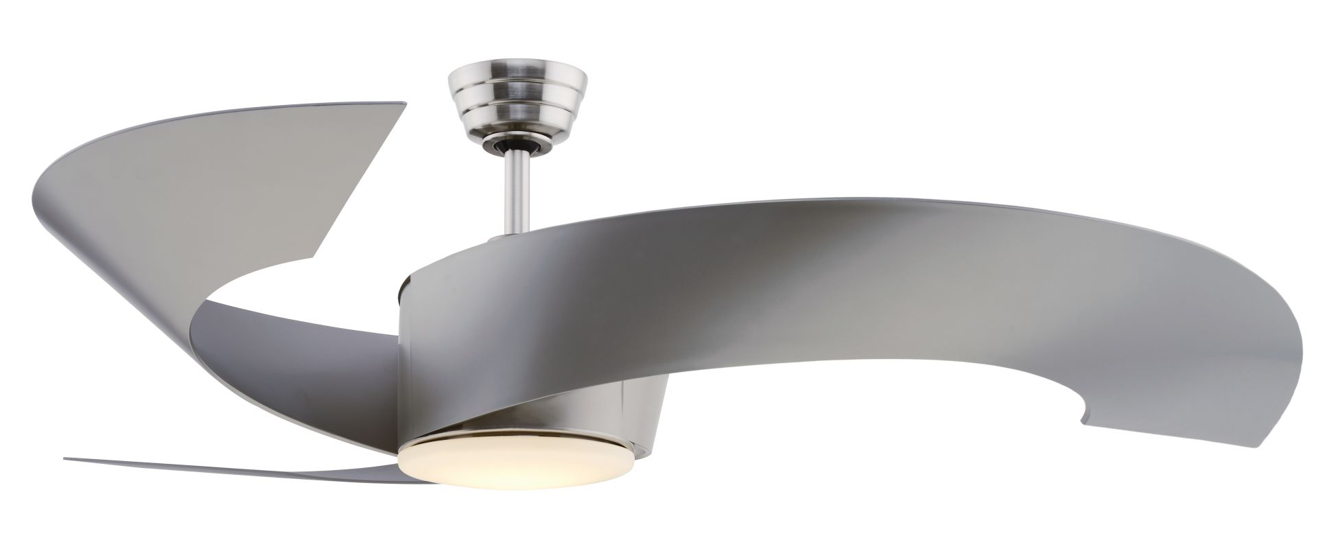 "Fanimation FP7902 52"" Semi-Flush 3 Blade Energy Star Certified Ceiling"