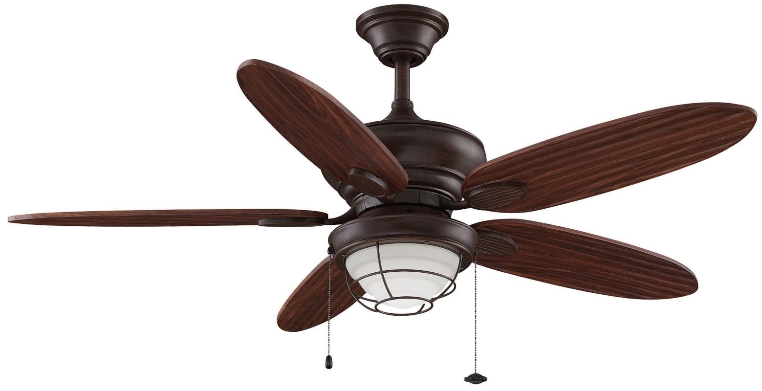 "Fanimation Kaya 52"" 5 Blade FanSync Compatible Outdoor Ceiling Fan -"