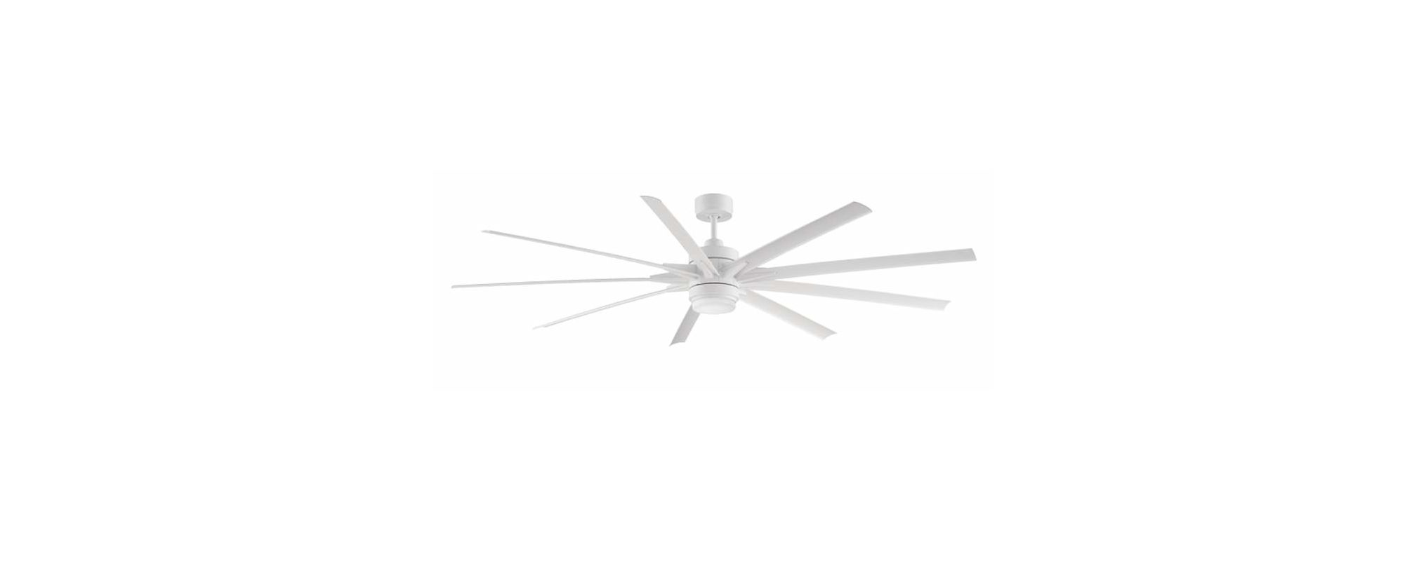 "Fanimation FPD8149 9 Blade 84"" Indoor Ceiling Fan - Blades Remote"