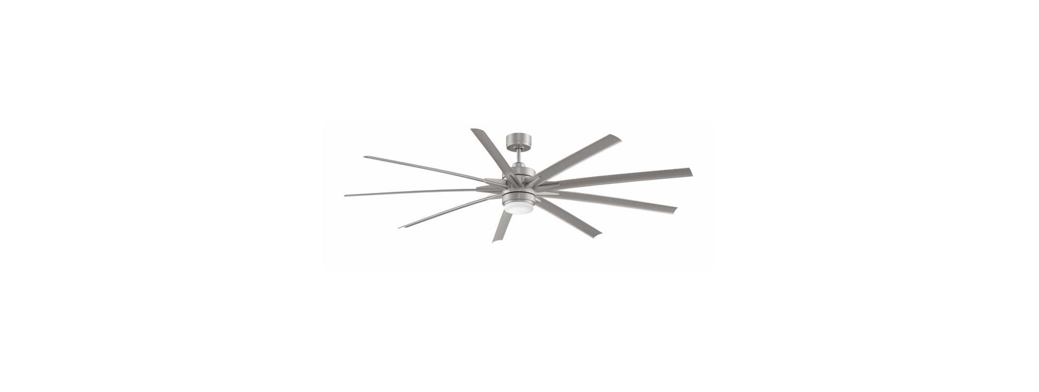 Fanimation FPD8148-220 Odyn 220V 9 Blade Indoor Commercial Ceiling Fan