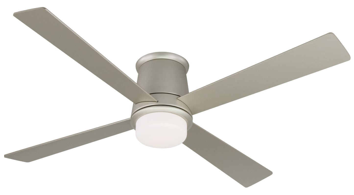 "Fanimation FPS7880-B7880SN Inlet 52"" 4 Blade Ceiling Fan - Nickel"