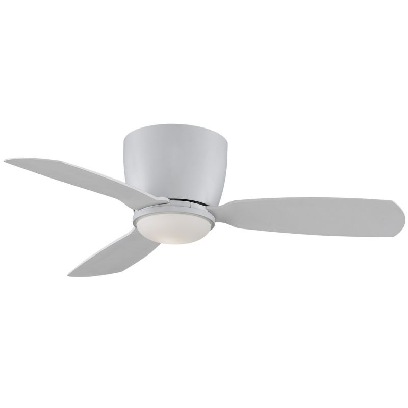 "Fanimation Embrace 44 44"" 3 Blade Ceiling Fan - Blades Light Kit and"