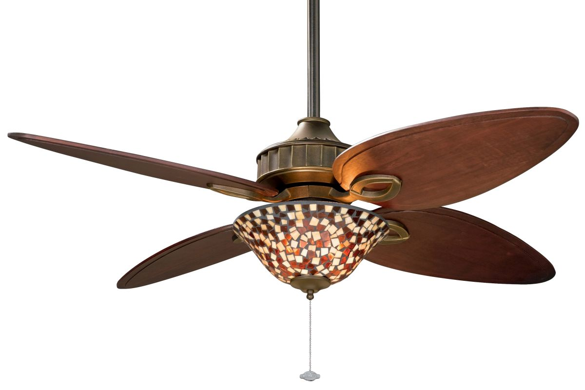 "Fanimation LB250VZ-F423VZ-G426 Lauren Brooks 56"" 4 Blade Ceiling Fan -"