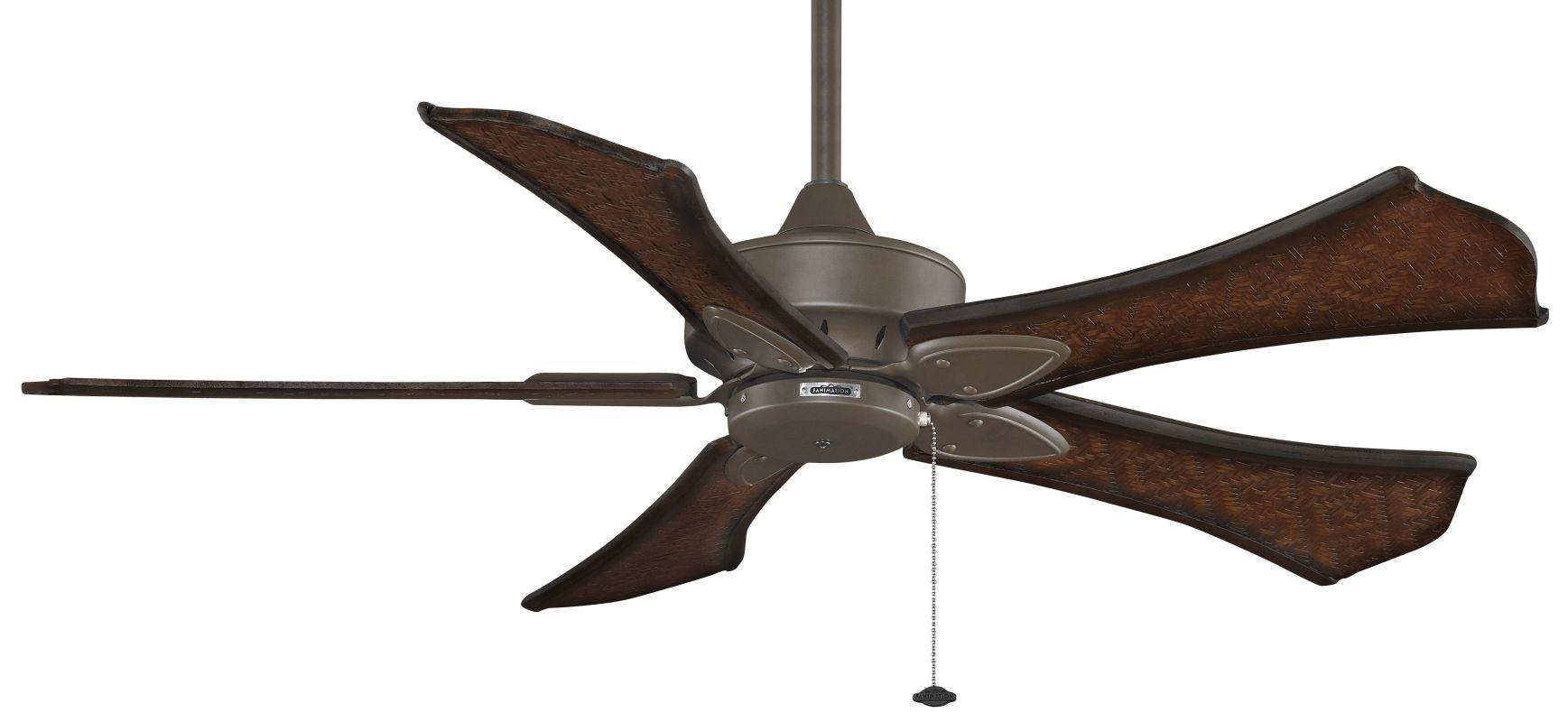 """Fanimation MA7500-B5270WA Windpointe 52"""" 5 Blade Ceiling Fan - Walnut"""
