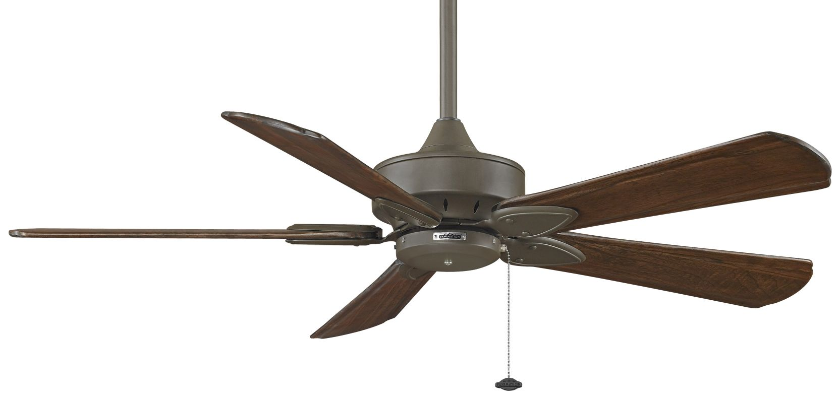 "Fanimation MA7500-B5310WA Windpointe 52"" 5 Blade Ceiling Fan - Walnut"