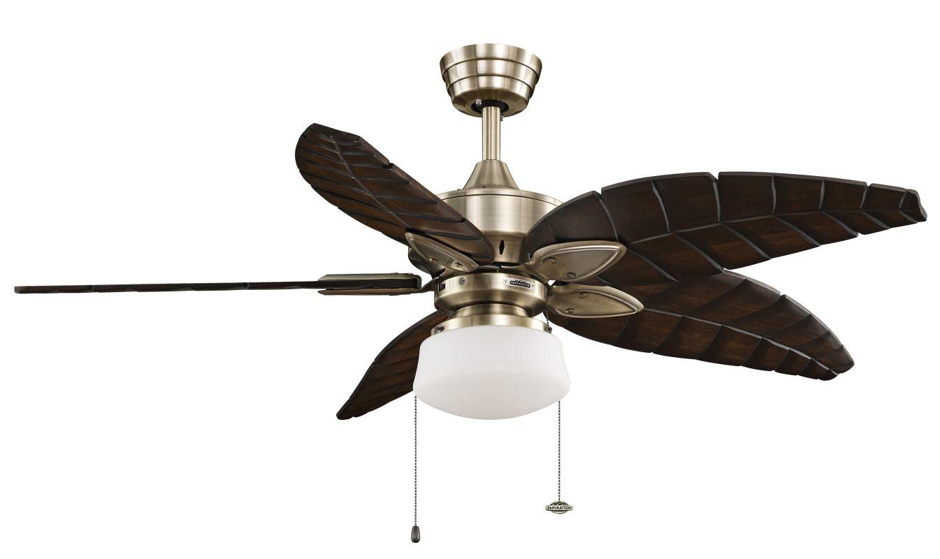 """Fanimation MA7500-B5340WA-LKLP102AB Windpointe 52"""" 5 Blade Ceiling Fan"""