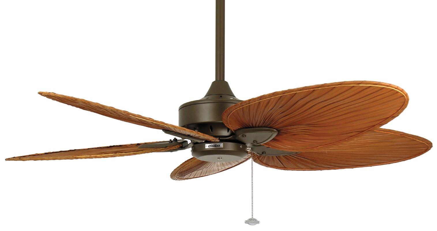 """Fanimation MA7500-ISP4RB Windpointe 52"""" 5 Blade Ceiling Fan - Brown"""