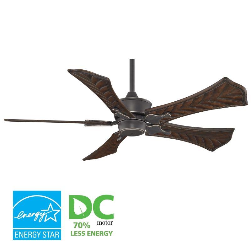 """Fanimation MAD3250-B5260WA Islander 52"""" 5 Blade DC Ceiling Fan -"""