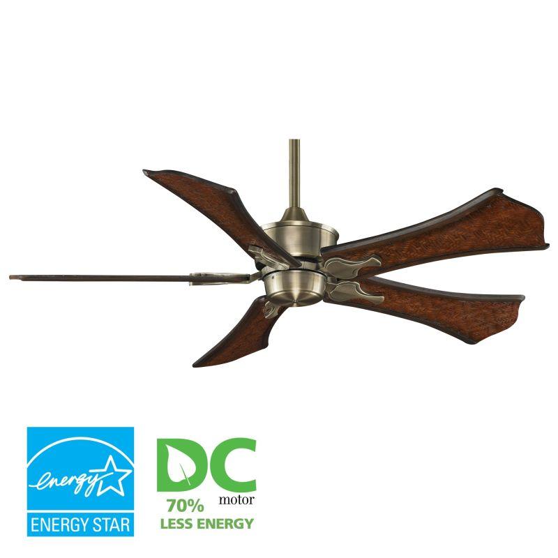 """Fanimation MAD3250-B5270WA Islander 52"""" 5 Blade DC Ceiling Fan -"""