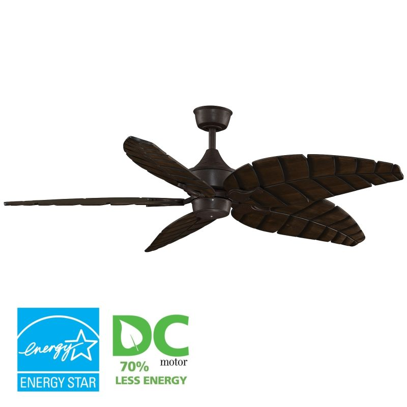 "Fanimation MAD3250-B5350WA Islander 60"" 5 Blade DC Ceiling Fan -"
