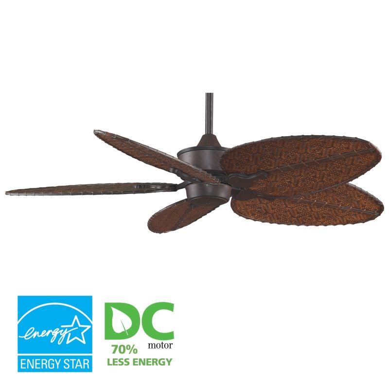 """Fanimation MAD3250-BPD4A Islander 52"""" 5 Blade DC Ceiling Fan - Antique"""