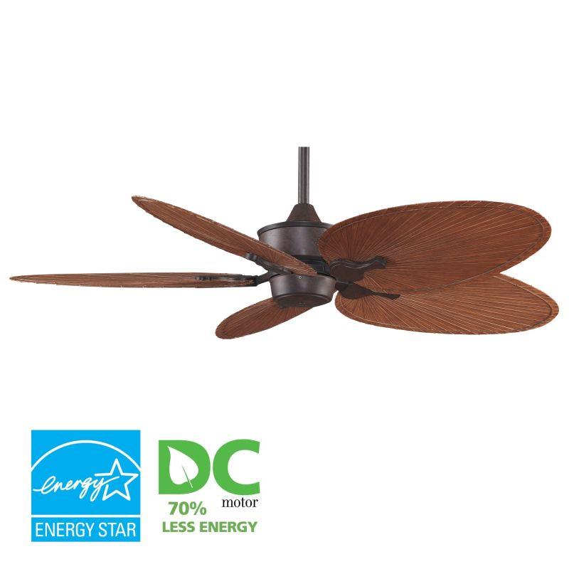 """Fanimation MAD3250-BPP4BR Islander 52"""" 5 Blade DC Ceiling Fan - Brown"""