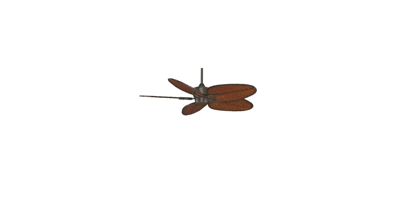 "Fanimation MAD3250-ISD4A Islander 52"" 5 Blade DC Ceiling Fan - Antique"