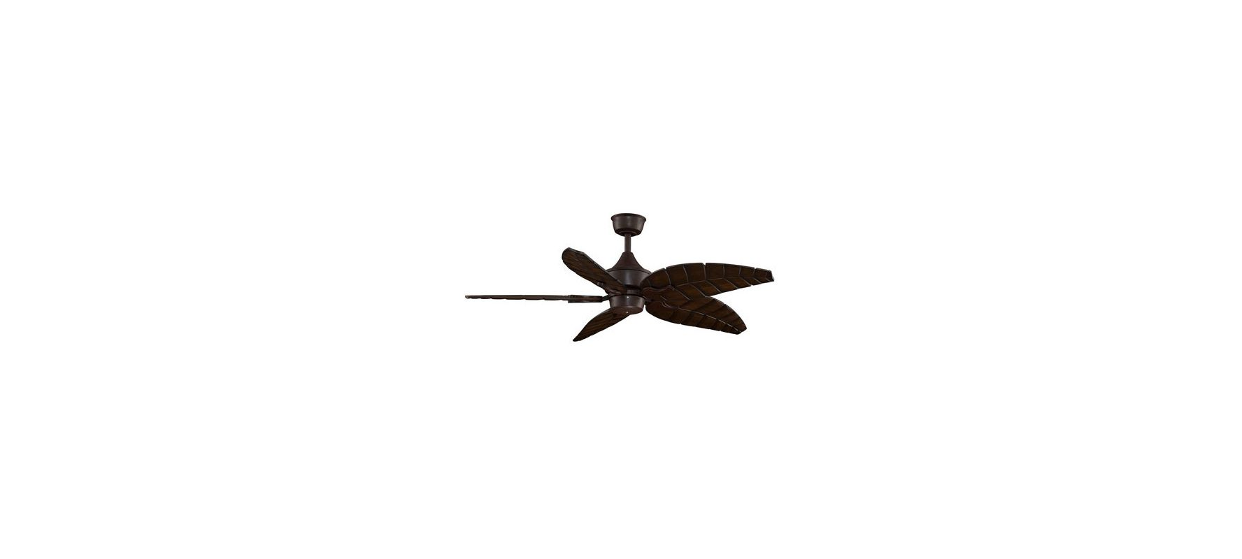 "Fanimation MAD3250-B5340WA Islander 52"" 5 Blade DC Ceiling Fan -"