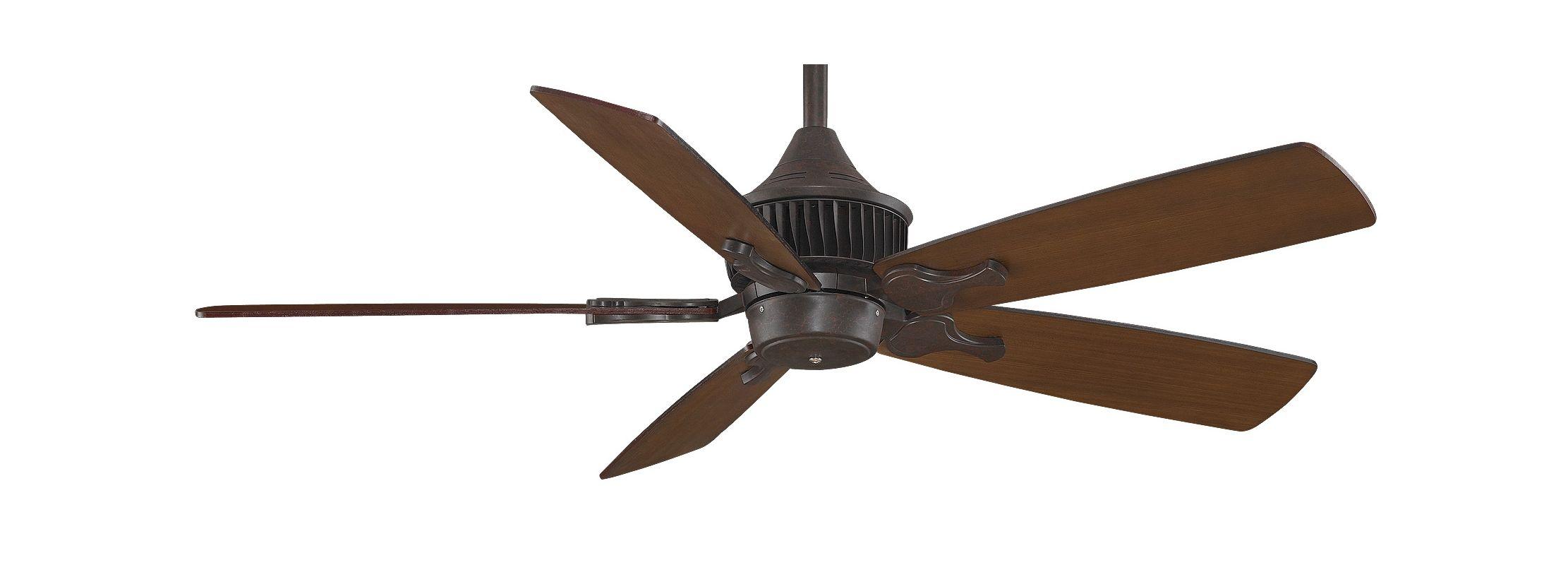 """Fanimation MAD3255-B5133TKMH Louvre 52"""" 5 Blade DC Ceiling Fan -"""